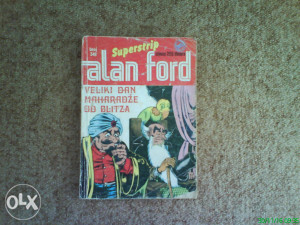 SSB Alan Ford 348 - Veliki dan maharadze od Blitza