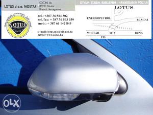 Škoda Octavia 05/09-desni retrovizor (ostali dijelovi)