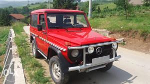 Mercedes G, 4x4, puh, dzip