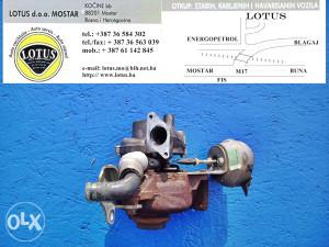 Fiat Scudo 07/ 2.0 hdi-turbina (ostali dijelovi)