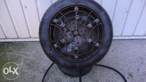 Retro grijalica i ventilator