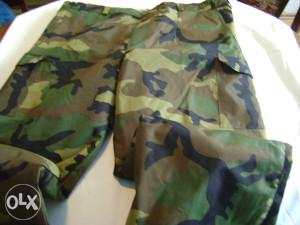 Pantalone maskirne nepromočive sa uloškom,konf.56