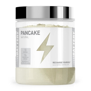 BATTERY PANCAKE NATURAL, 500g