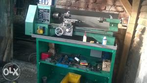 tokarski stroj strug zamjena priključci za traktor