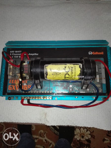 Pojacalo za auto  i kondenzator