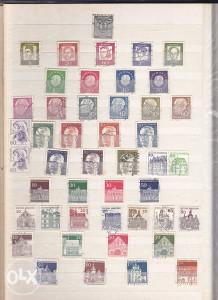 Poštanske marke, lot Njemačka (1)