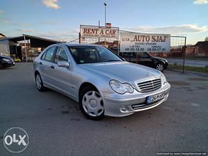 Mercedes-Benz C 200 CDI 90KW 2005G.P. TEK REGISTROVAN