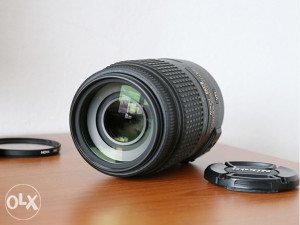 Nikon 55-300mm VR objektiv 55-300