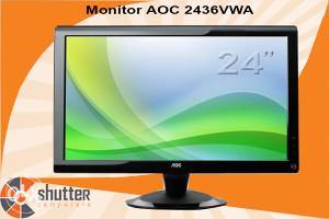 "Monitor AOC 2436VWA 24"" FULL HD"