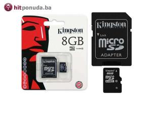 Kingston Micro SD 8GB Class10