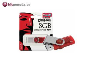 Kingston USB 8GB 101 G2 Red