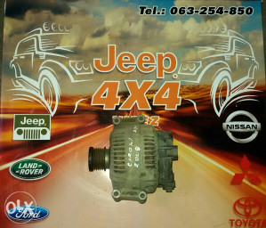 Jeep Grand Cherokee 3.0 Alternator