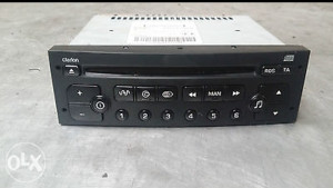 Peugeot cd player