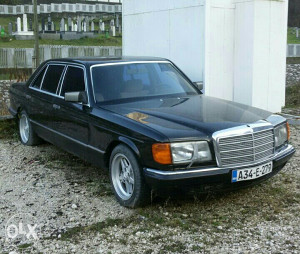 Mercedes 126 500 SEL langa