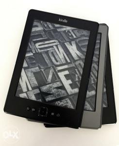 Amazon Kindle 4 silver 2011
