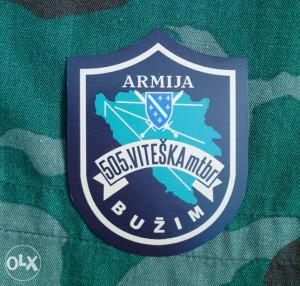 Amblem ARBiH - 505. Buzimska br.