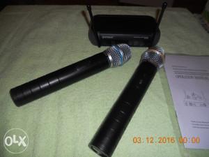 Mikrofon daljinski 2 kom,novo