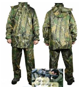 Kišno dvodjelno odijelo - Oprema za lov