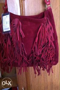 """Nova ženska torba """"Amisu"""" sa resama"""