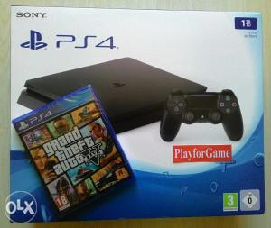 PlayStation 4 (PS4) 1000 GB - SLIM + G.T.A. V