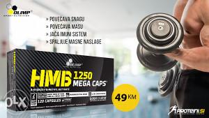 OLIMP HMB MEGA CAPS 1250, 120 kapsula
