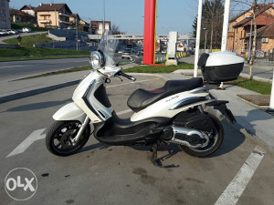 Piaggio beverly tourer 400-500