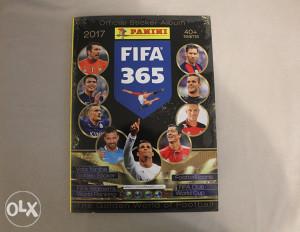 Panini FIFA 365 - prazan album - izdanje za Sloveniju
