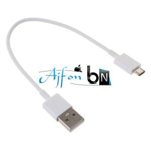 Android USB Kabl 20cm Bijeli