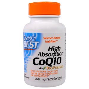 Koenzim q10, 100 mg, 120 kapsula. Q-10