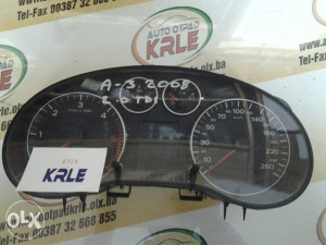 Kilometar sat tabla Audi A3 2.0 TDI 8P0920931 KRLE 729