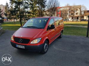 Mercedes Vito 8+1 Rent-A-Car Iznajmljivanje kombija