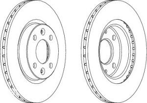 Diskovi Diskovi Renault Clio-2/Megane-1 259x20,6