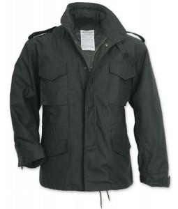 M65 Vijetnamka Crna jakna sa zimskim uloskom