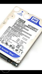 """Hard disk laptop sata 2,5"""" 750gb"""