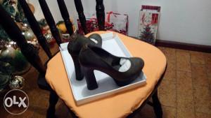 cipele zenske sa potpeticom 39 t. zelene