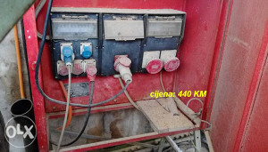 građevinski ormar za struju