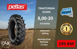 8.00-20 Gume za traktor
