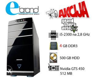 I5-2300 2,8 GHz,4GB RAM,500 GB HDD,Nvidia GTS450
