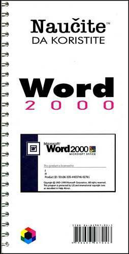 Knjiga: Naučite da koristite Word 2003, pisac: Dragan Ćosić, Računari, Osnove, Obrada teksta, Priručnici, Do 10.00 KM