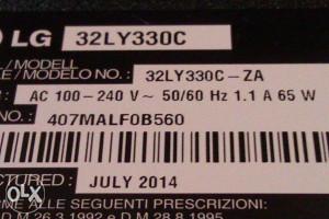 LCD   LG32LY330C  ( za dijelove)