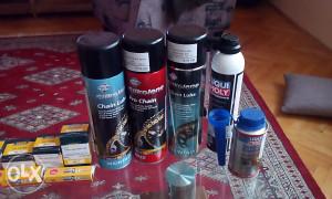 Prodajem razni potrošni materijal za motocikle!!!