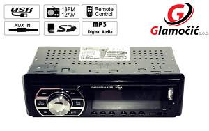 RADIO PLAYER ZA AUTO USB,SD,FM,AUX