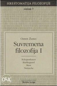 Knjiga: Suvremena filozofija 1, pisac: Ozren Žunec, Filozofija, Stručne knjige