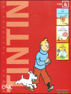 Knjiga: Tintinove pustolovine 4, pisac: Georges Remi – Hergé, Strip