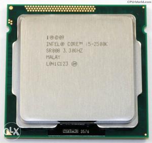 Procesor Intel CORE I5 2500K 3.30