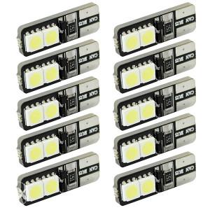Pozicije LED auto 4 SMD svijetla T10 CANBUS ERROR