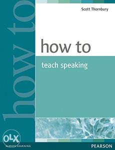 Knjiga: How to Teach Speaking, pisac: Scott Thornbury, Strani jezici, Udžbenici