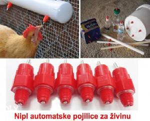 Nipl automatske pojilice za živinu veličina L