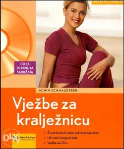Knjiga: Vježbe za kralježnicu + CD, pisac: Achim Schmauderr, Zdravlje, Popularna medicina