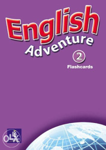 Knjiga: English Adventure Level 2 Flashcards, pisac: Anne Worrall, Strani jezici, Učenje